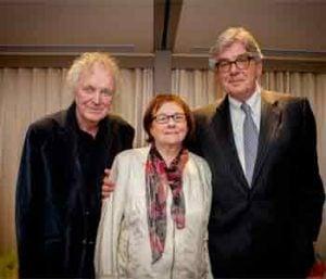 Pierre Létourneau, Monique V-Lelièvre et Maurice Pinsonneault